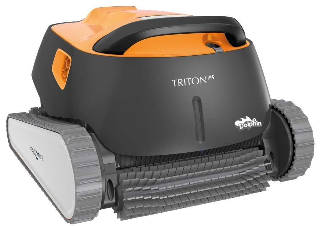 Dolphin Triton Robotic Pool Cleaner W/ Powerstream