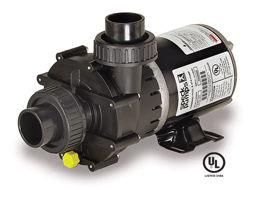 Speck E75 3/4 Hp 1 Speed Spa Pump -110V