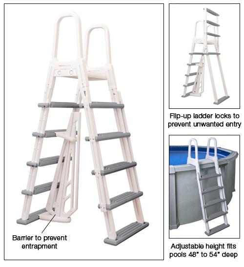 Heavy Duty A Frame Ladder Options
