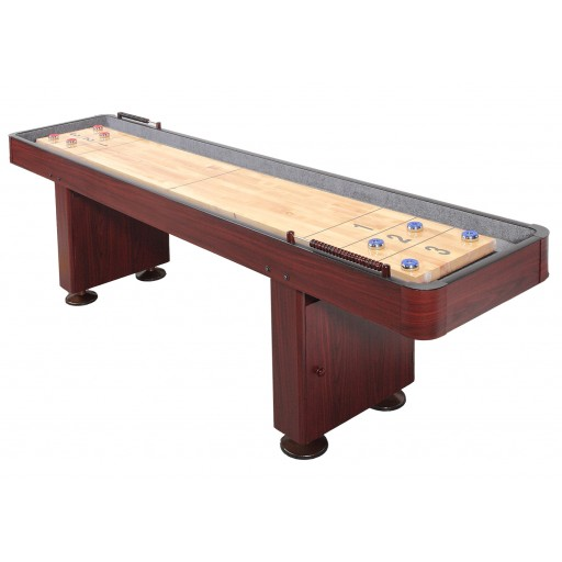 Challenger 9. Shuffleboard ¦ Dark Cherry Finish