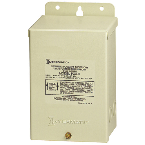 Intermatic Px300 Transformer 12V 300W With Automatic Circuit Breaker