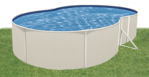 Sunray 12 X24 Oval 48 Quot Steel Pool With 3 Quot Top Ledge