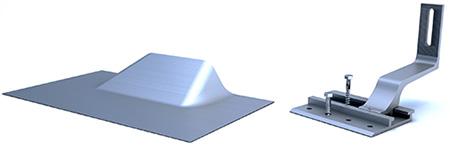 tile hook parts for pv solar installs
