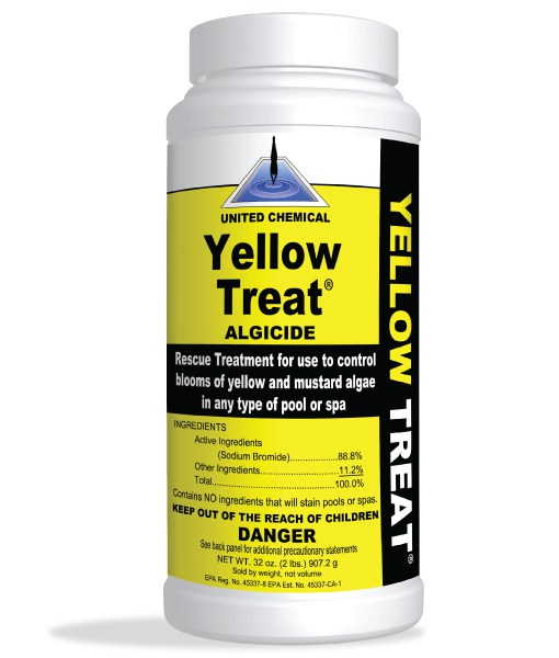 United Chemcials Yellow Treat  - 2 Lb
