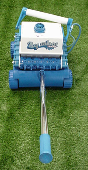 Residential Pool Cleaning : Aquabot cart for residential pool cleaners