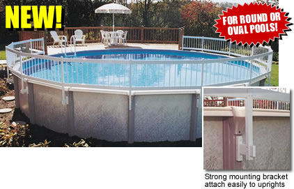 Cantar Above Ground Pool Fencing