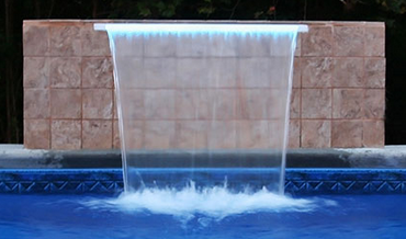 CMP Brilliant Wonders LED Waterfalls for Pool and Spa