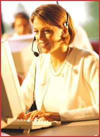 Fully Staffed Customer Service Department