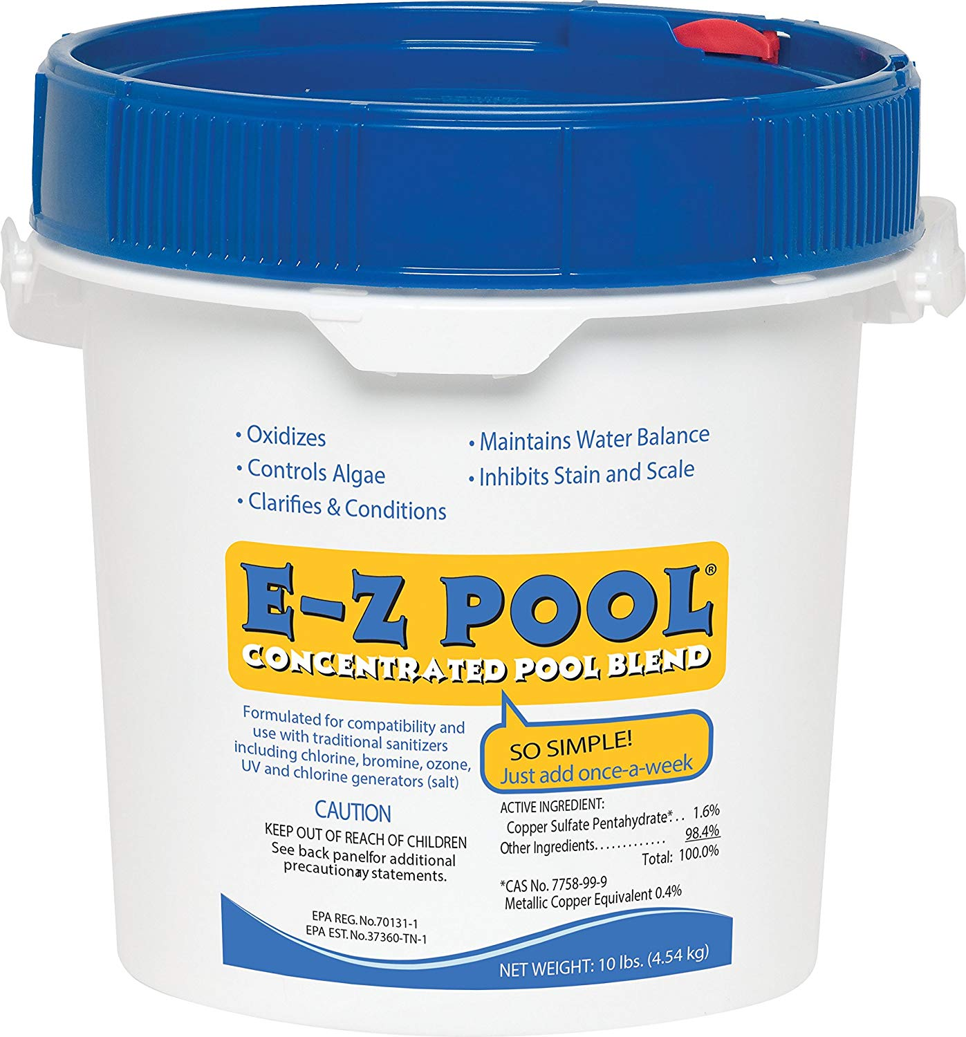 E-Z Pool 10lb All In One Pool Care Solution