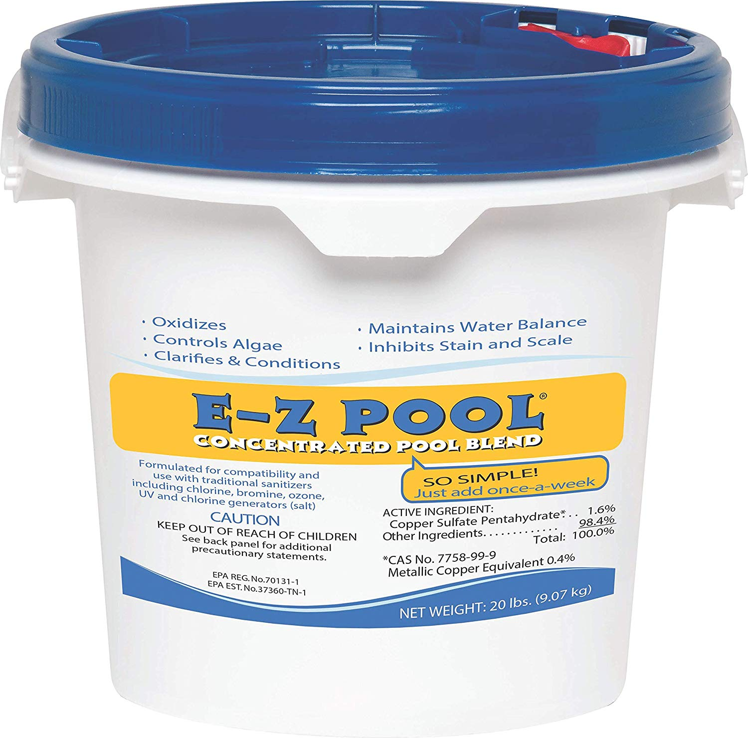 E-Z Pool 20lb All In One Pool Care Solution