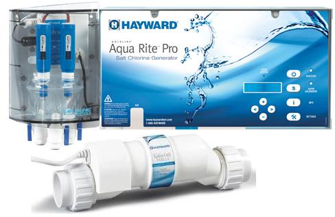 Hayward Aquarite Pro Salt Chlorine Generator W Sense