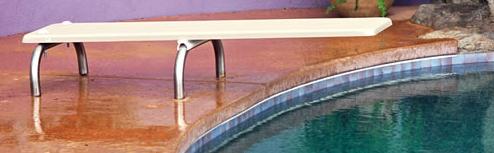 interfab u-stand diving board stands