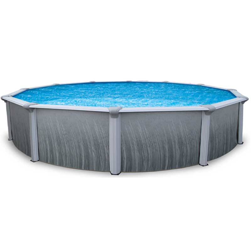 Martinique 18 39 round 52 steel pool with 7 top rail Purchase above ground swimming pool