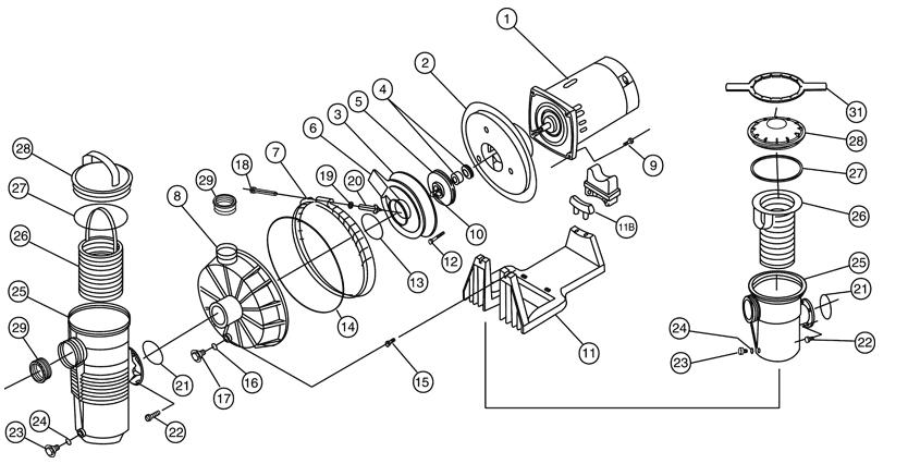 Pentair Challenger Parts