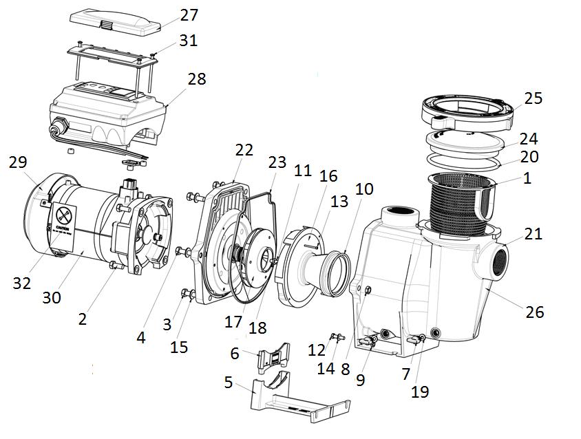Pentair Intelliflo Vs 3050  U0026 Vs   Svrs Parts