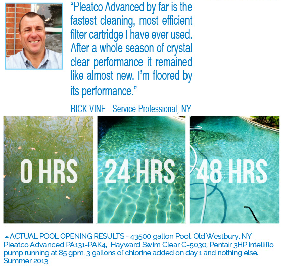 pleatco pool guy testimonials