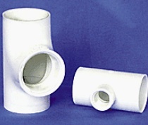 pvc plumbing tees for pools