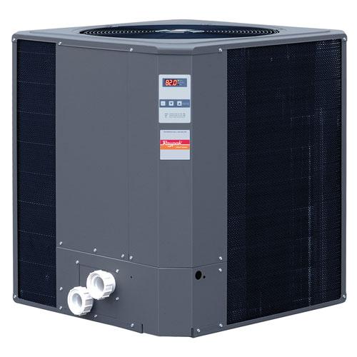 Raypak 016015 119,000 BTU Heat Pump Digital Titanium
