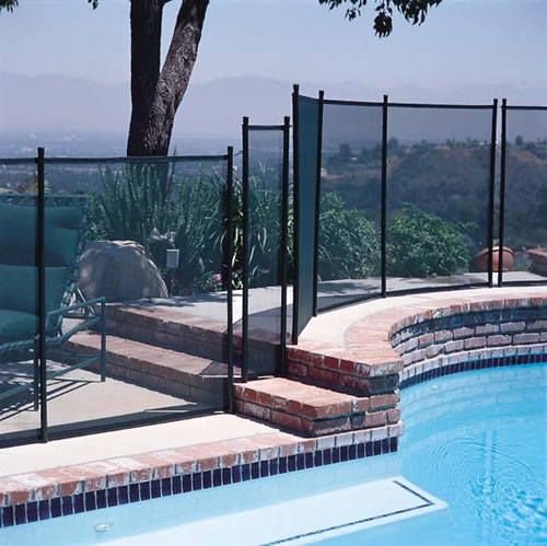 Gli Protect A Pool Safety Fence 5 X 10 Section Black 30 0510 Blk