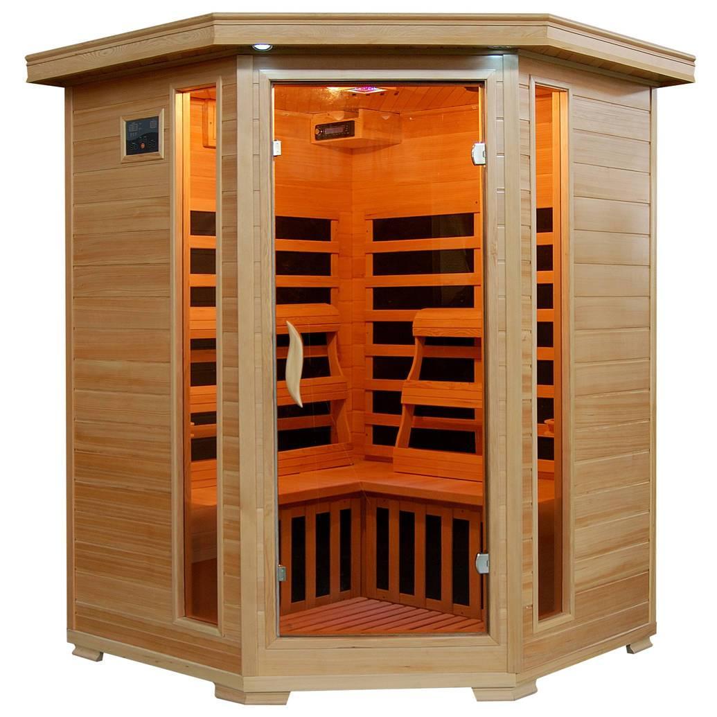 sante-fe-sa2412dx-3-person-hemlock-corner-infrared-sauna