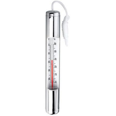 Chrome Plated Thermometer