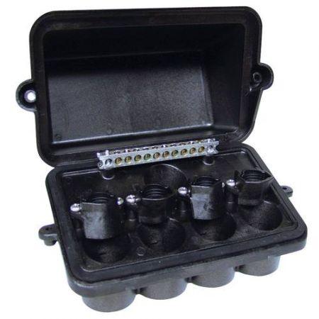 Intermatic Four Fixture Plastic Junction Box - Pjb4175