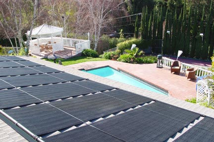 aquasol solar panels on roof