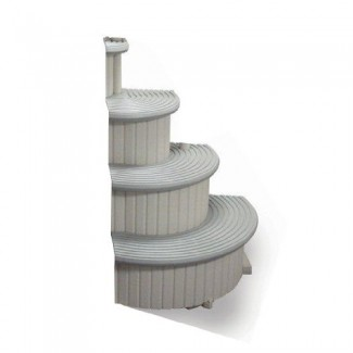 Confer Curve Above Ground Pool Step Add-On Unit - Ccx-Ag-2