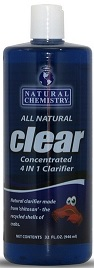 Natural Chemistry Clear Clarifier All Natural-1 Qt (03555)