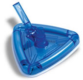 Clear Triangular Vacuum Head