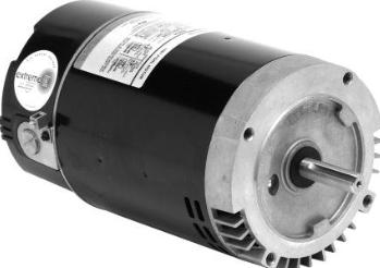Emerson eb808 56 frame c flange pool spa motors 56c for 56c frame motor dimensions