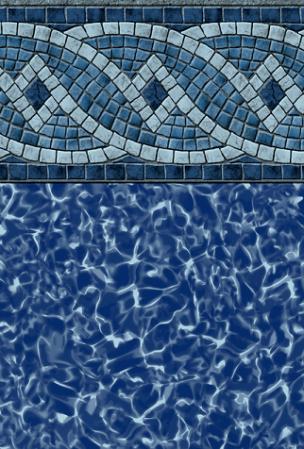 Pooltux Emperor - Silver Princeton Pool Liner