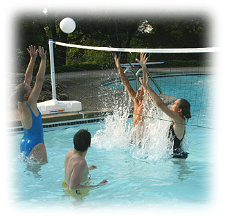 Pool Shot Spike And Splash Volleyball Wv523 Free Shipping