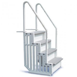 Confer 31-Inch Wide Above-Ground In-Pool Steps - Step-1