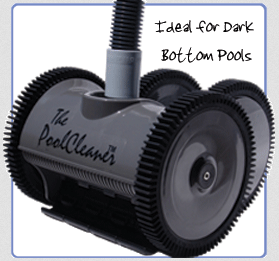 The Pool Cleaner 4-Wheel Suction Cleaner- Limited Edition Dark Gray (896584000-525)