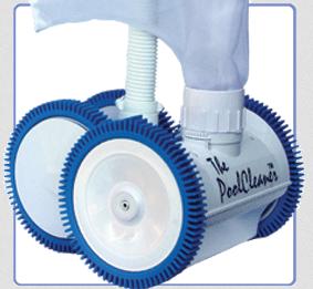 The Pool Cleaner 4-Wheel Pressure Cleaner White (896584000-037)
