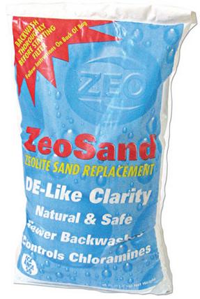 Zeosand 25Lb. Bag - (The Very Best Media For Any Sand Filter)