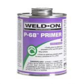 IPS Weld-On ½ Pint P-68 Primer NSF/UPC - Purple