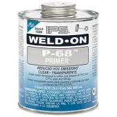 IPS Weld-On Quart P-68 PVC Primer - Clear