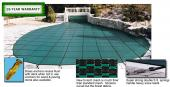30X50 Pool Size Safety Cover-Standard Blocmesh - 15 Year Warranty