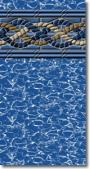 Swimline 12 X 20 Rectangular Gold Coast 48 Uni-Bead Liner (Hg)