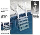 Deluxe Heavy Duty In-Pool Ladder Options