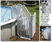 Complete Stair Entry System W/Gate Options