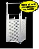 Deluxe A-Frame Ladder Enclosure