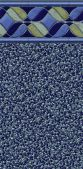 Latham 12' x 24' Rectangle Avalon In-Ground Replacement Liner - 27 Mil