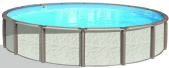 Azor 12 Round 54 Resin Pool With 8 Top Ledge