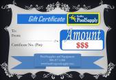 Best Buy Pool Supply Gift Certificates
