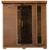 Klondike 4 Person Cedar Heatwave÷ Sauna