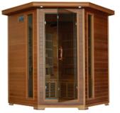 Whistler 4 Person Corner Cedar Heatwave÷ Sauna