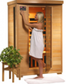 Coronado - 2 Person Carbon Heater Heatwave Infrared Home Sauna